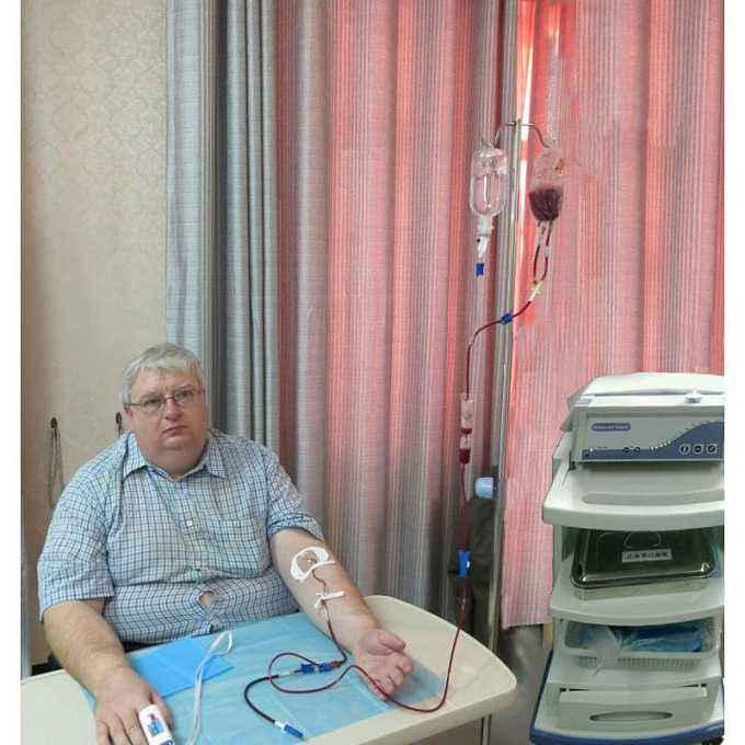 三氧大自血疗法